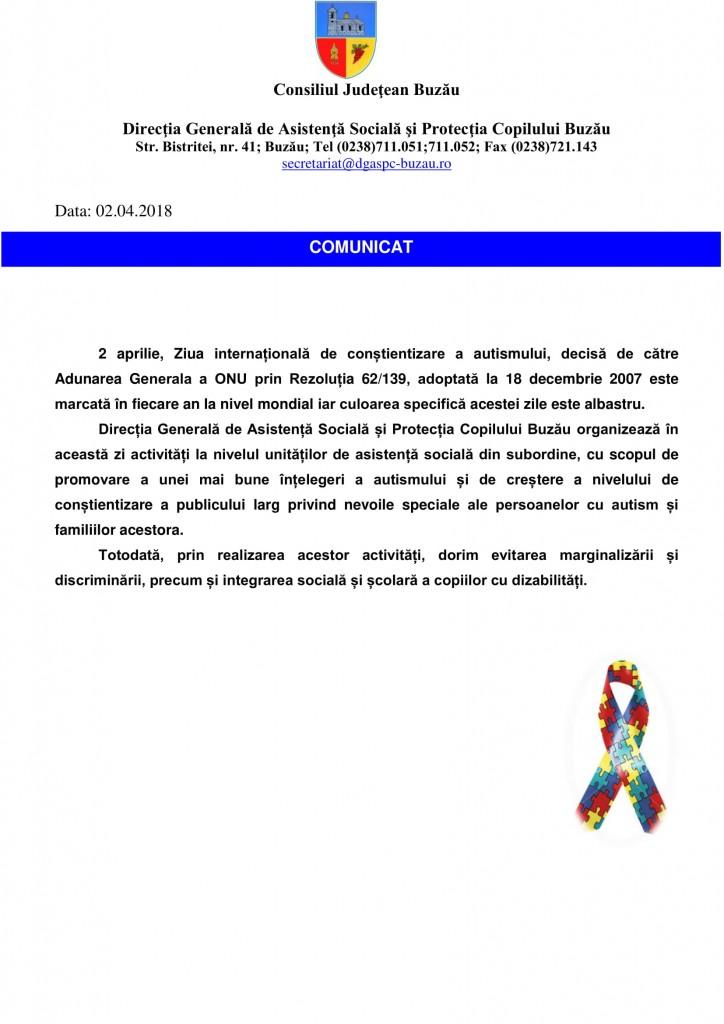 Comunicat de presa autism 2018-1